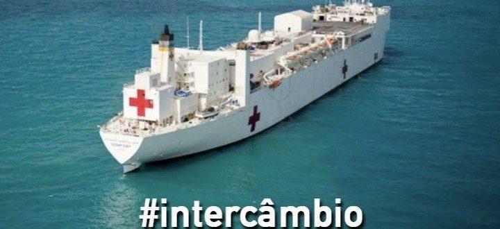 Ao completar três meses embarcado no maior navio-hospital do mundo, médico explica rotina a bordo