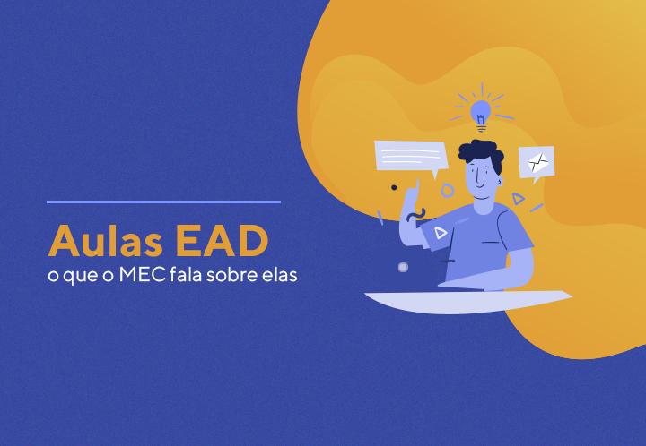 Aulas EAD: o que o MEC fala sobre elas
